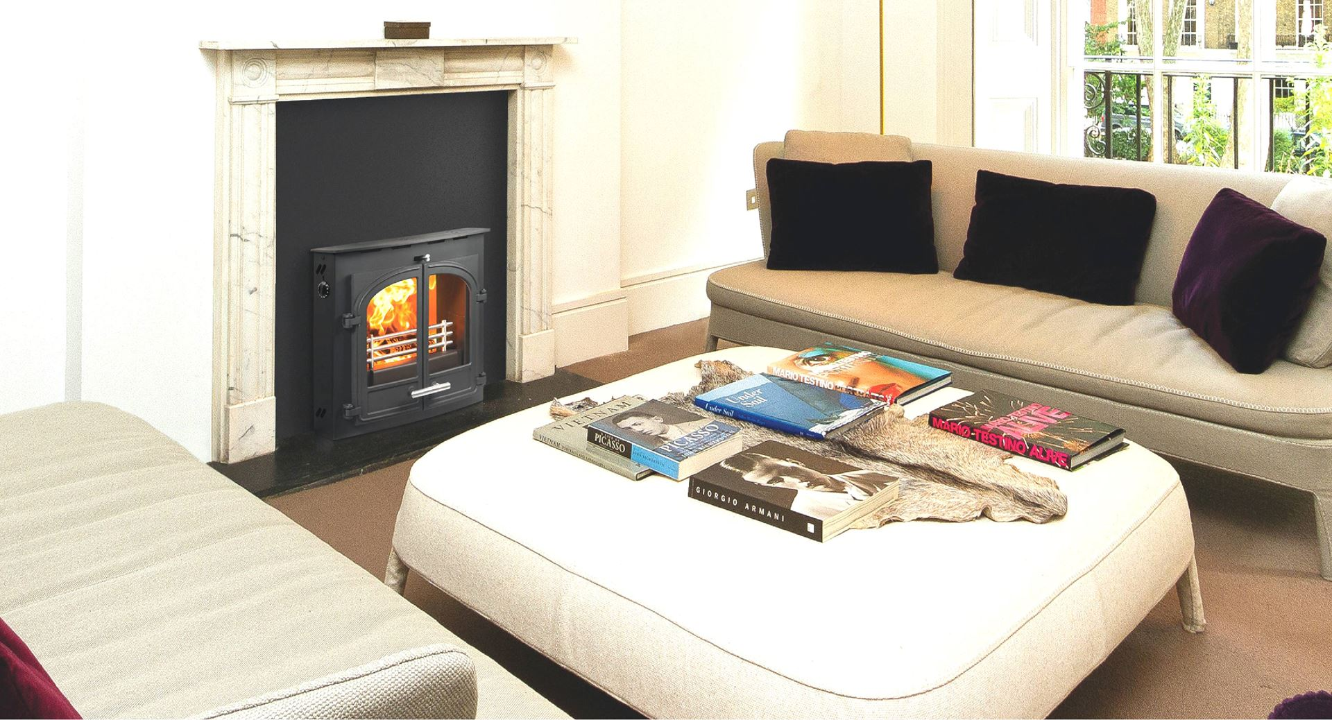 Hunter Traditional Stoves