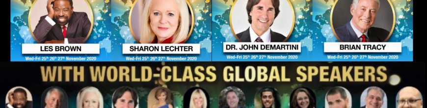 The Global Speakers list from the Introbiz Global Summit